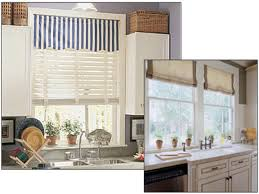 window treatments for kitchens kitchen window treatment blinds