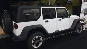 jeep lights on top this rejected next gen jeep wrangler design may be hiding a secret