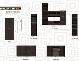 modular unit modern modular wall unit eva wall units