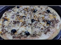 cuisine de sousou sousou cuisine ألذ و أروع بيتزا بيضاء باللحم