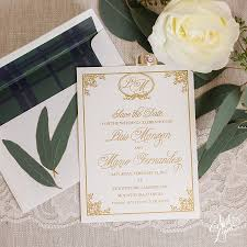 wedding invitations miami luis mario s save the date april designs custom