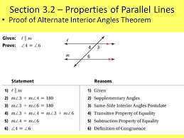 Same Side Interior Definition Ch 3 U2013 Parallel And Perpendicular Lines Ppt Video Online Download