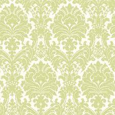 ginger green brocade damask wallpaper wallpaper contemporary
