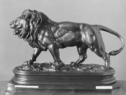 barye lion sculpture antoine louis barye walking lion le lion qui marche