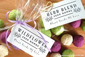 seed favors create diy wedding favors with our new bulk seed bombs bonus