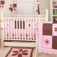 pam u0027s petals nursery in a bag bedding set chocolate pink