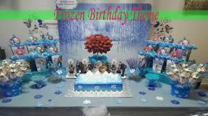 frozen birthday theme party ideas ملكة الثلج فروزن youtube