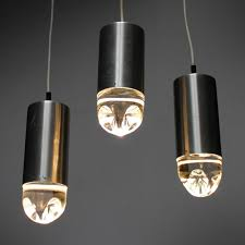 Vintage Pendant Light Vintage Pendant Lights With Solid Glass From Raak Set Of 6 For