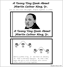 martin luther king coloring pages printable martin luther king jr a teeny tiny book