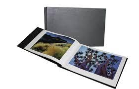 Black Leather Photo Album Hahnemuhle A4 Classic Black Leather Album 10 640 740