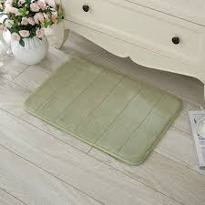 Memory Foam Rugs For Bathroom 40 X 60cm Coral Velvet Memory Foam Rug Bathroom Mat Soft Non Slip