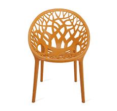 Nilkamal Kitchen Furniture Buy Nilkamal Crystal Pp Chair Orange Online At Home