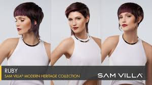 extended neckline haircut the ruby haircut from the sam villa modern heritage collection youtube