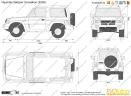 galloper the blueprints com vector drawing hyundai galloper innovation