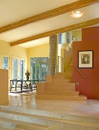 stairs wall decoration ideas staircase modern with glass doors