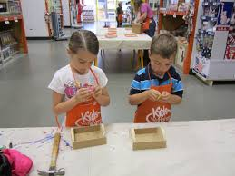 it u0027s fun 4 me home depot kids craft