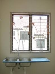 house sitout grill designs traditional kerala design with window