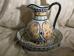 Decorative Pitchers Capriware Hand Painted Ceramic Colorful Decorative Pitcher And