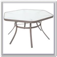 Patio Set With Swivel Chairs Fantastic Hexagon Patio Table Hexagon Patio Table With Swivel