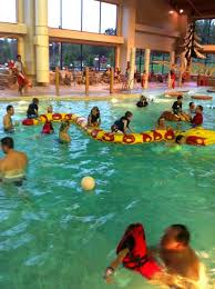 the great wolf lodge is a wonderful hotel with an indoor water