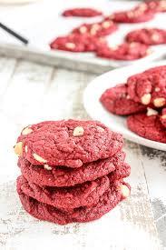 red velvet cookies lisa u0027s dinnertime dish