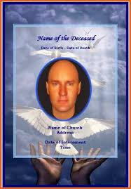 funeral memorial cards memorial cards for funeral resume name