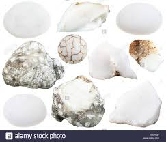 natural white opal set of various cacholong white milky opal natural mineral stones