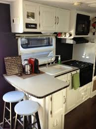 cer trailer kitchen ideas cer remodel ideas rv renovation ideas and pictures class c