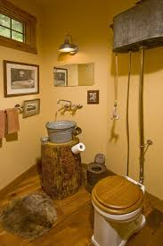Outhouse Bathroom Accessories by The Use Of Rustic Bathroom Décor And Some Of Its Benefits Faitnv Com