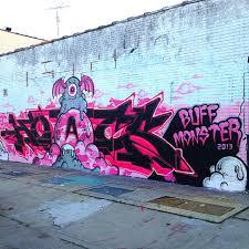 Nyc Spray Paint Art 7 Nyc Walls Buff Monster Nyc Street Artist