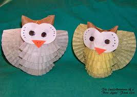 i love these cute little owl crafts easy to make fall decorating