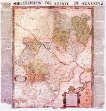 Madrid Map Mapa Del Reino De Aragón Joao Baptista De Lavanha 1620