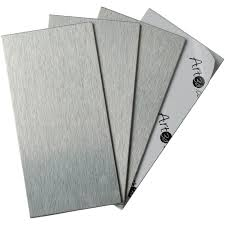Pcs Peel And Stick Kitchen Backsplash Adhesive Metal Tiles For - Peel and stick kitchen backsplash tiles
