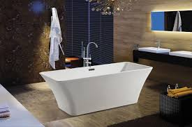 akdy bathroom white color freestand acrylic bathtub az f295 wfb