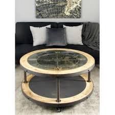 Clock Coffee Table by Roman Numeral Coffee Table Wayfair