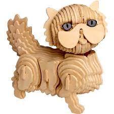 quay m048 cat woodcraft construction kit