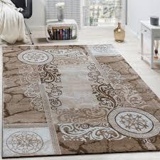 tappeti design moderni tappeto di design moderno m礬lange floreale con motivo versace