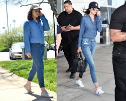 kendall jenner casual i dressed like gigi hadid and kendall jenner to prove a point