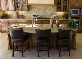 kitchen kitchen island table with chairs long kitchen table
