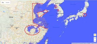 East China Sea Map by Reality Check What Would The World Map Look Like If Sea Levels