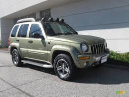 03 jeep liberty renegade 2003 cactus green pearl jeep liberty renegade 4x4 18572729