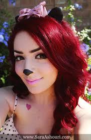 minnie mouse costume makeup tips mugeek vidalondon