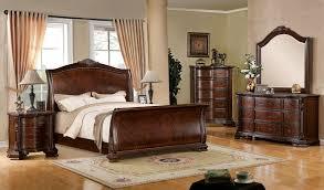 sleigh bedroom set queen furniture of america cm7270 5 pc penbroke collection deep brown
