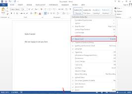 Count Same Words In Document How To Count Words In Office 365 2016 2013 Word Document