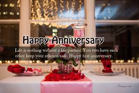 Sweet Wedding Anniversary Wishes For Great 1st Wedding Anniversary Wishes With Sweet First Wedding