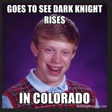 Bad Luck Brian Meme - bad luck brian in media res comm 263 spring 2013