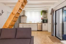 Airbnb Tiny House Tiny House Loft In East Vancouver Canada Dream Big Live Tiny Co