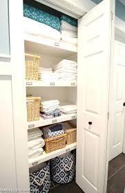 bathroom closet ideas built in linen closet sowingwellness co