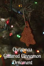 glittery applesauce cinnamon ornaments 1 cup applesauce 1 c