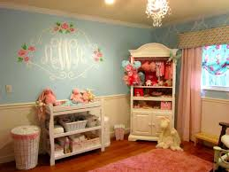 most popular baby nursery themes with nice letters and floral